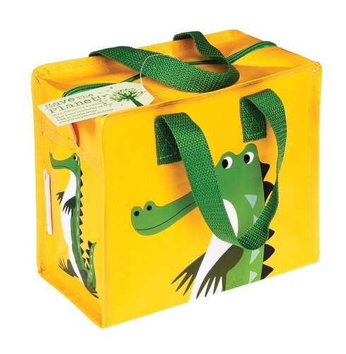 Children's bag recycled plastic - Crocodile