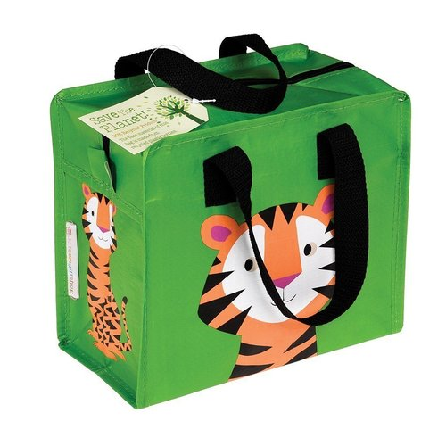 Children's bag recycled plastic -Tiger