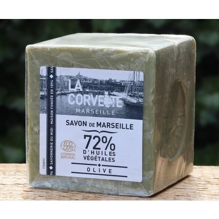 Soap Marseille olive oil cube 300 grams