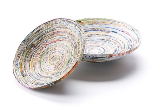 Paper bowl fair trade D 20 cm