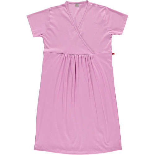 Maternity nightgown organic cotton Vintage Pink