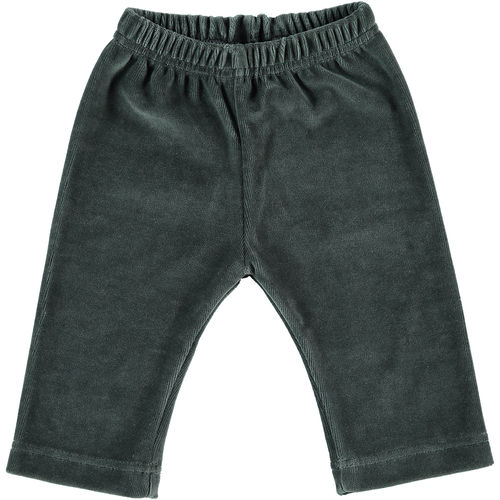Baby trousers velour dark grey 50-56