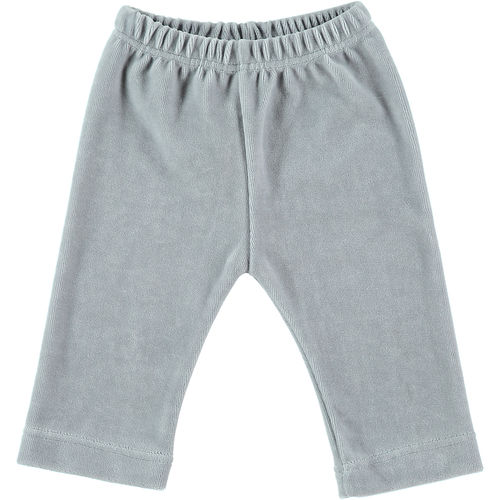 Baby trousers velour grey 50-56
