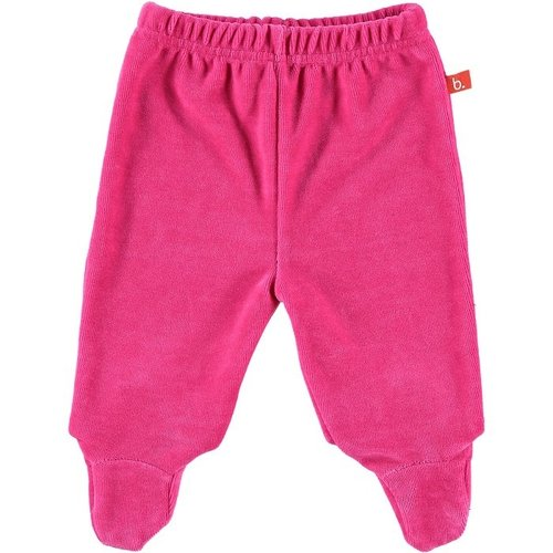 Baby pants velour 50 fuchsia