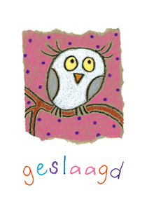 Wishing card Owl