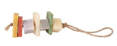 Soap cubes on a rope 10cm