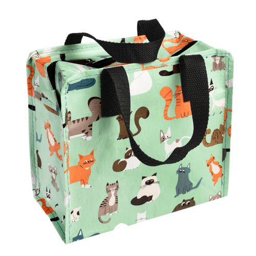 Children's bag recycled plastic Cats- nine lives