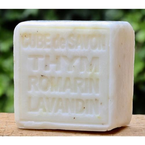 Soap with thyme, rosemary and lavender