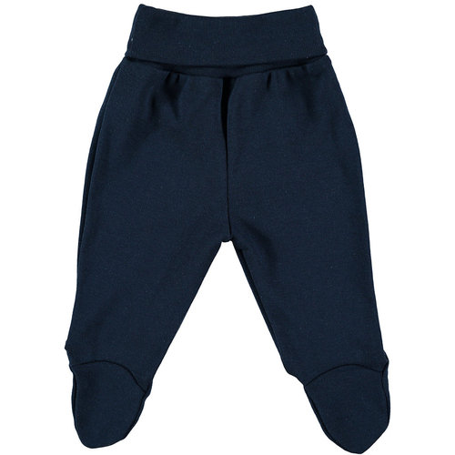 Cotton navy blue baby pants 50 cm