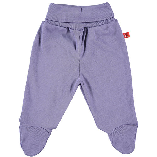 Baby pants lilac organic cotton 50 Limobasics